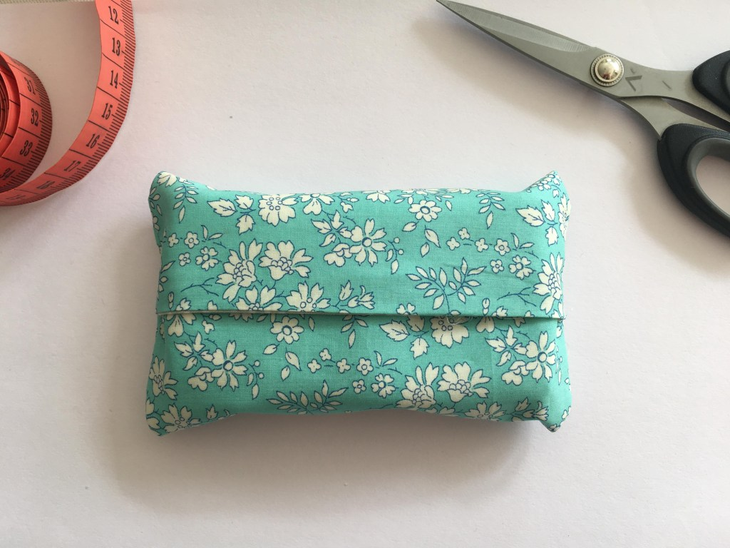 Fabric tissue holder tutorial