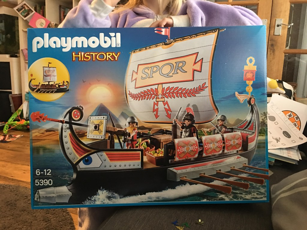 Playmobil History Roman Warriors' Ship review