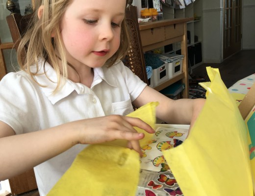 The Spring Box from Mila & Pheebs {subscription boxes for kids}