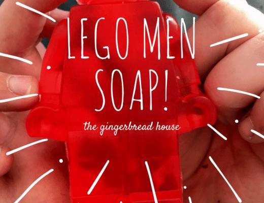 Easy Lego Men Soaps