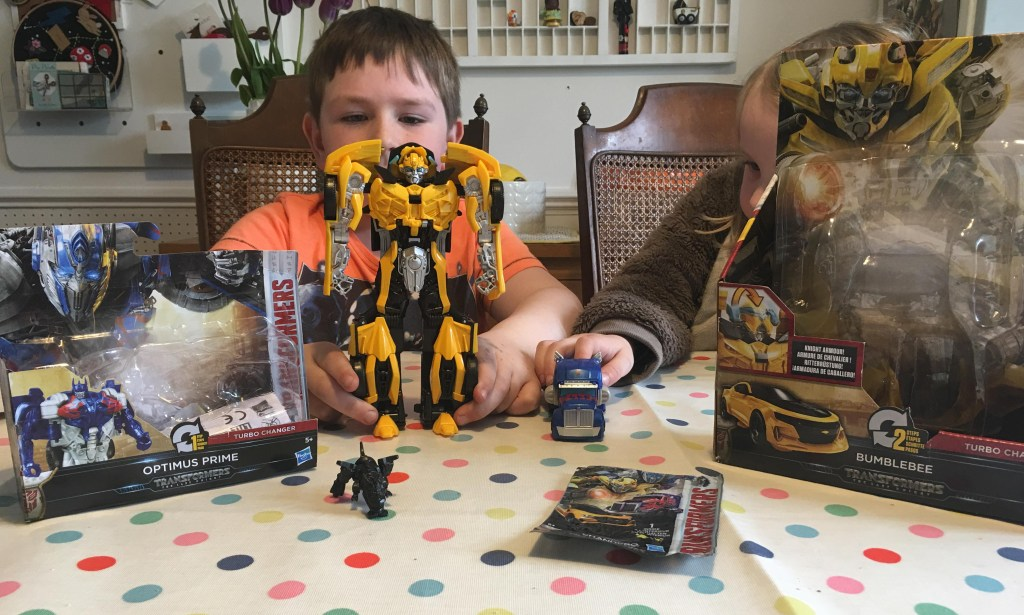 Transformers Bumblebee Turbo Changer