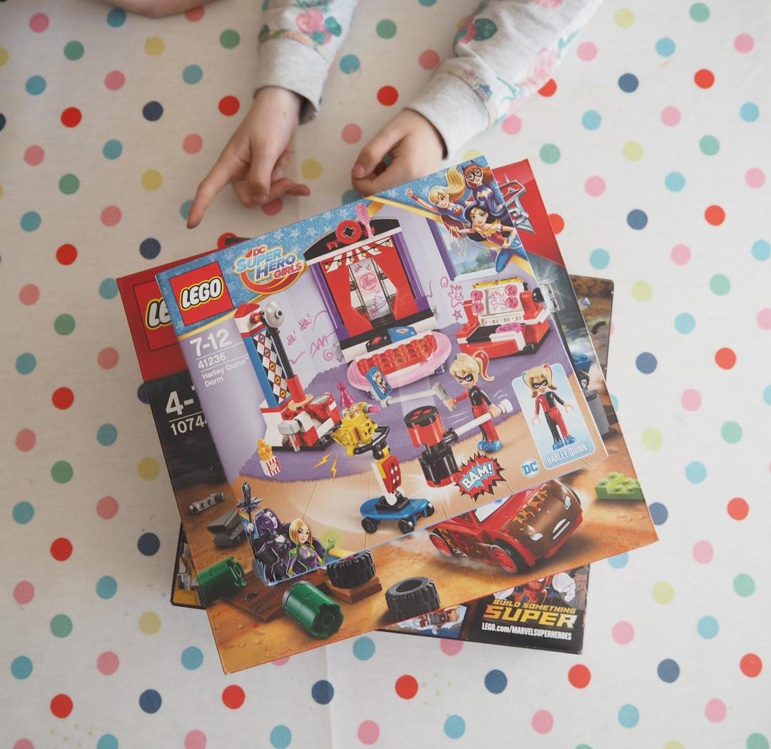 building Lego together