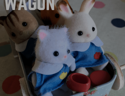 DIY miniature wagon for Sylvanian Families