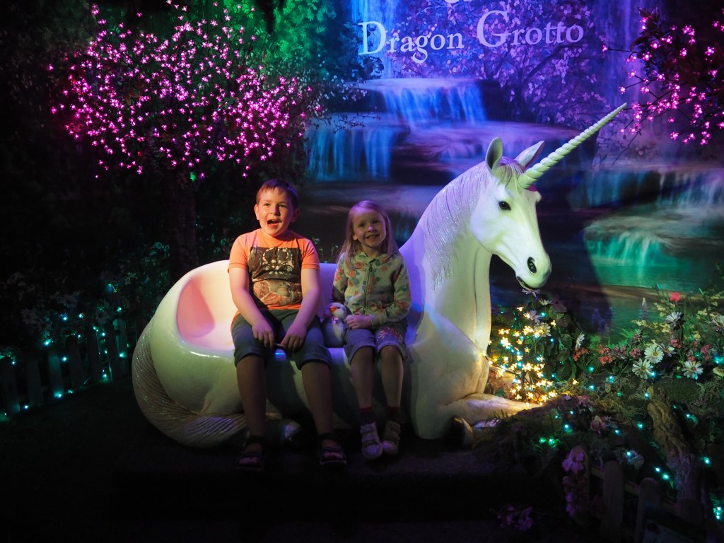 Fairy and Dragon Grotto at Whitehall Garden Centre