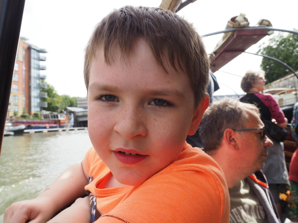 on the Bristol Packet Boat Trip