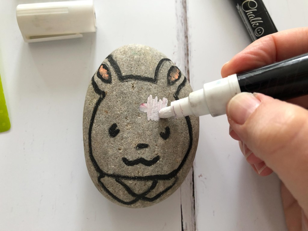 Sylvanian Families painted rocks