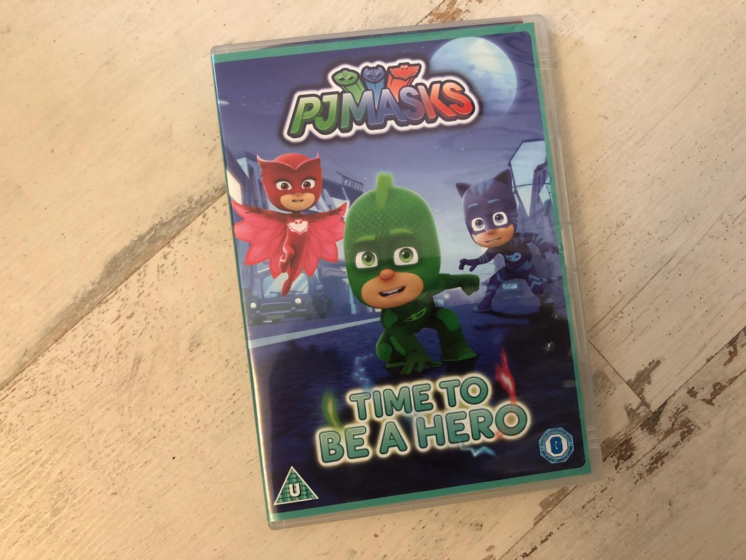 PJ Masks Time to Be a Hero DVD