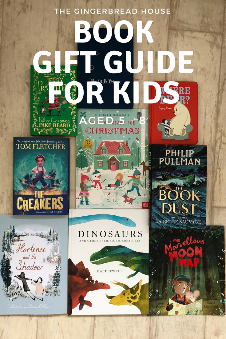Book gift guide for kids