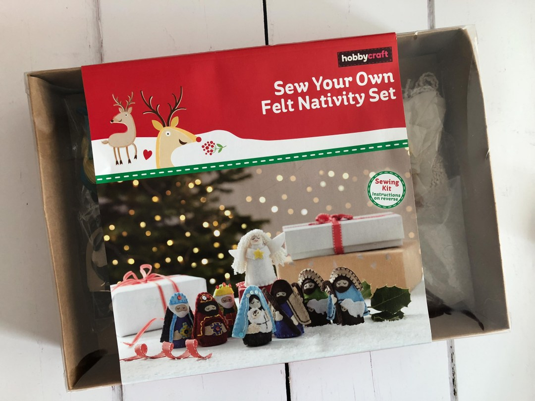 Sew Your Own Felt Nativity Set