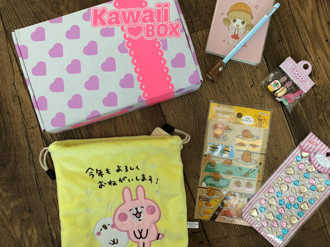 Kawaii box reveal and giveaway