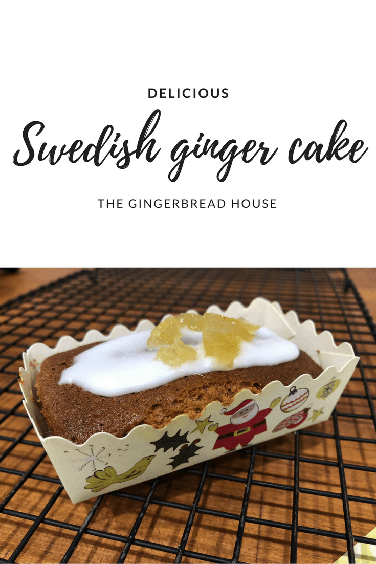 Delicious Swedish Ginger Cake recipe