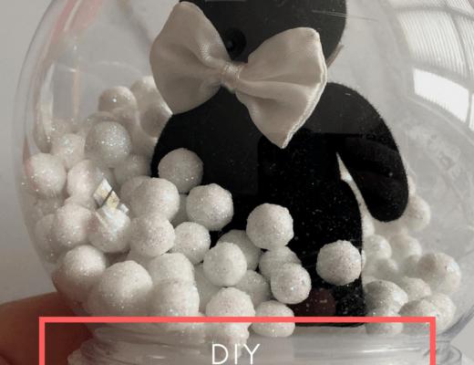 DIY Sylvanian Families snow globe tutorial