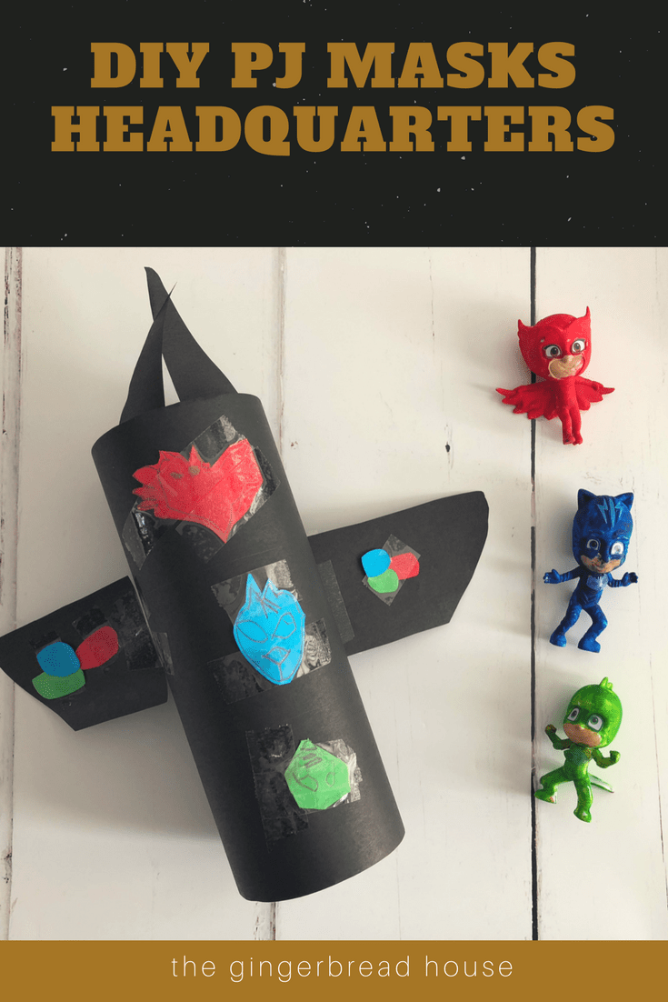 Make your own PJ Masks Headquarters craft