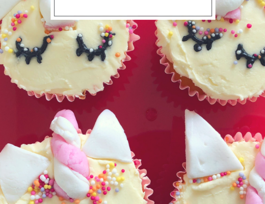 Easy Unicorn cupcakes {thanks to Lakeland}