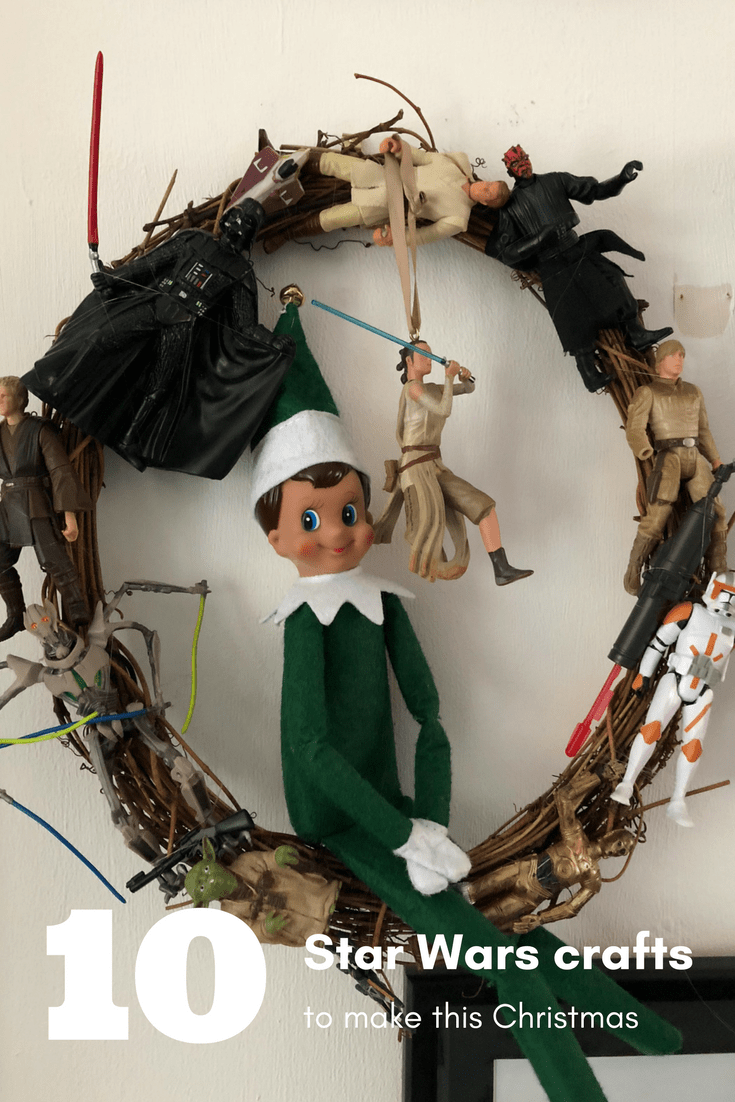 10 star wars christmas decorations to make - Star Wars Christmas Decorations