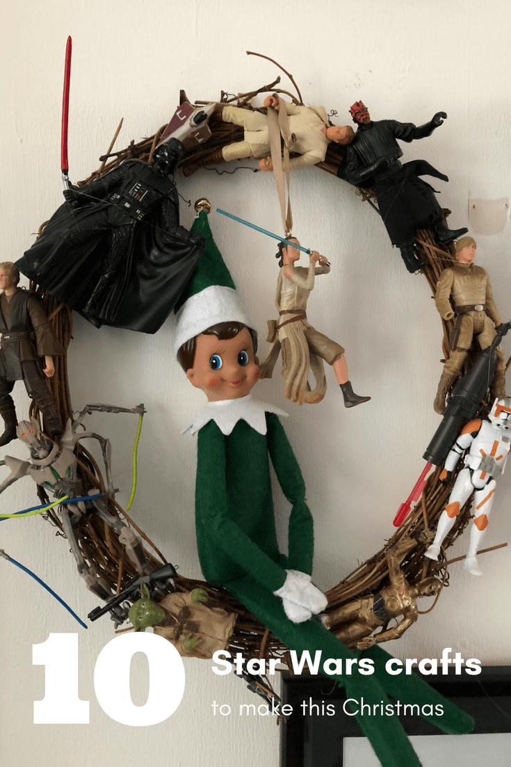 10 Star Wars Christmas decorations to make