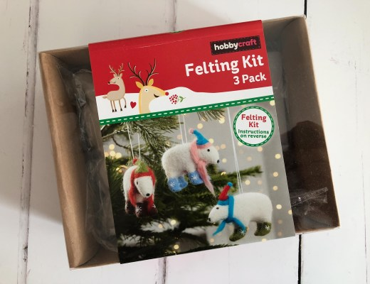 Win a Polar Bear Felting Kit