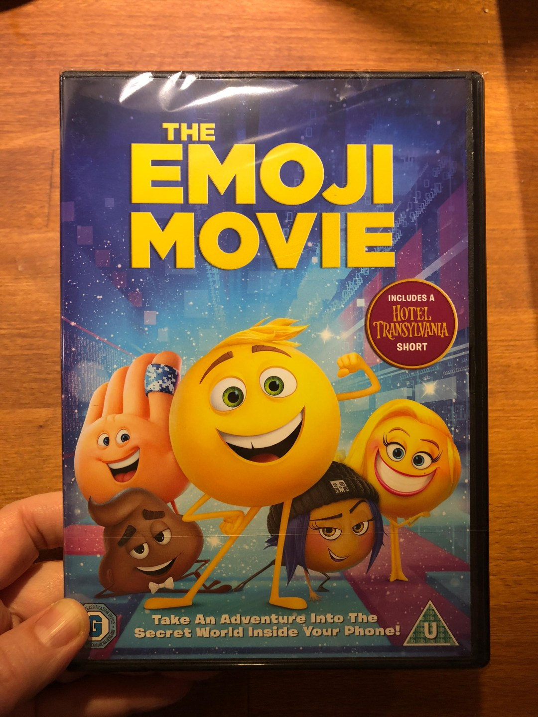 Win a copy of The Emoji Movie DVD