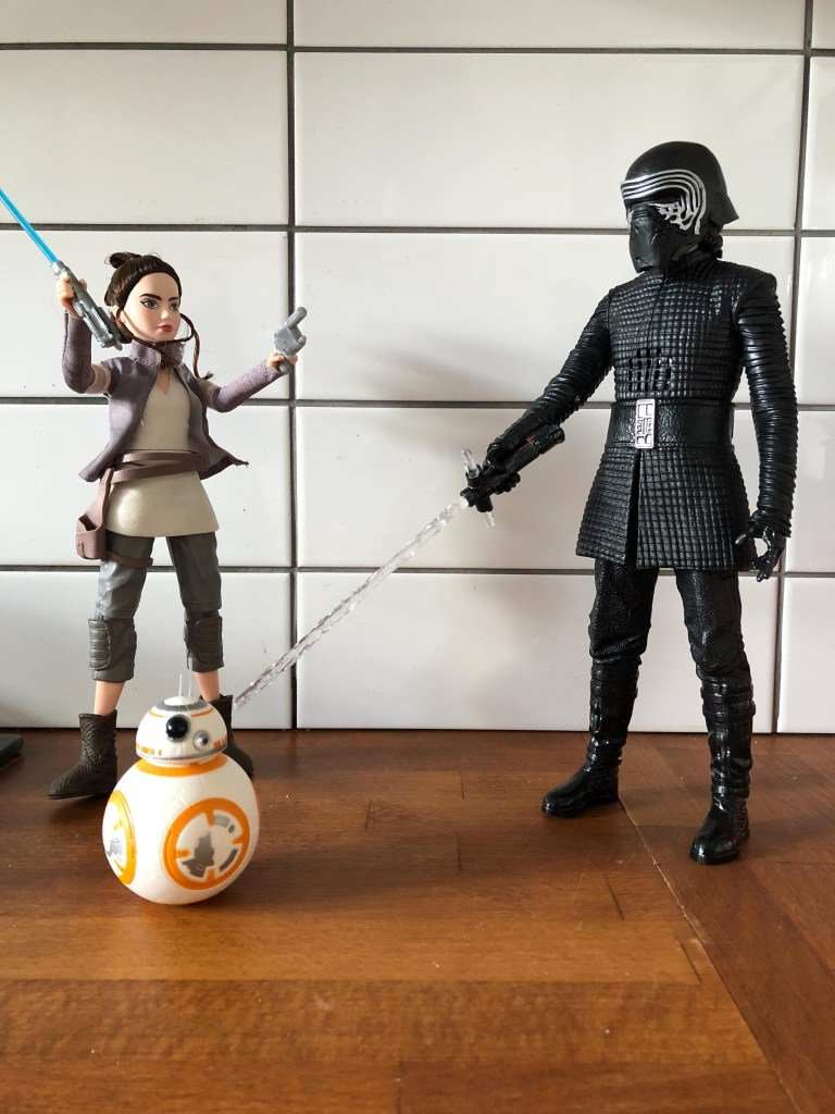Star Wars Forces of Destiny Rey of Jakku and BB8