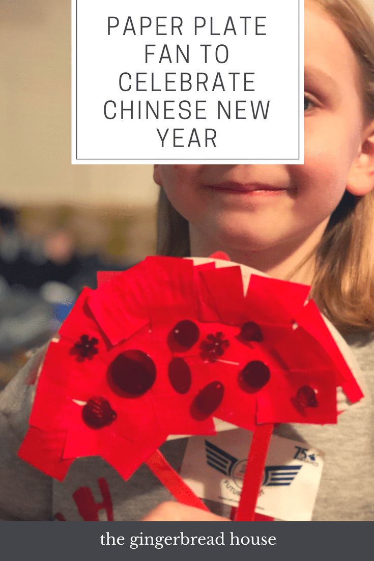 Paper plate fan to celebrate Chinese New Year - the ...
