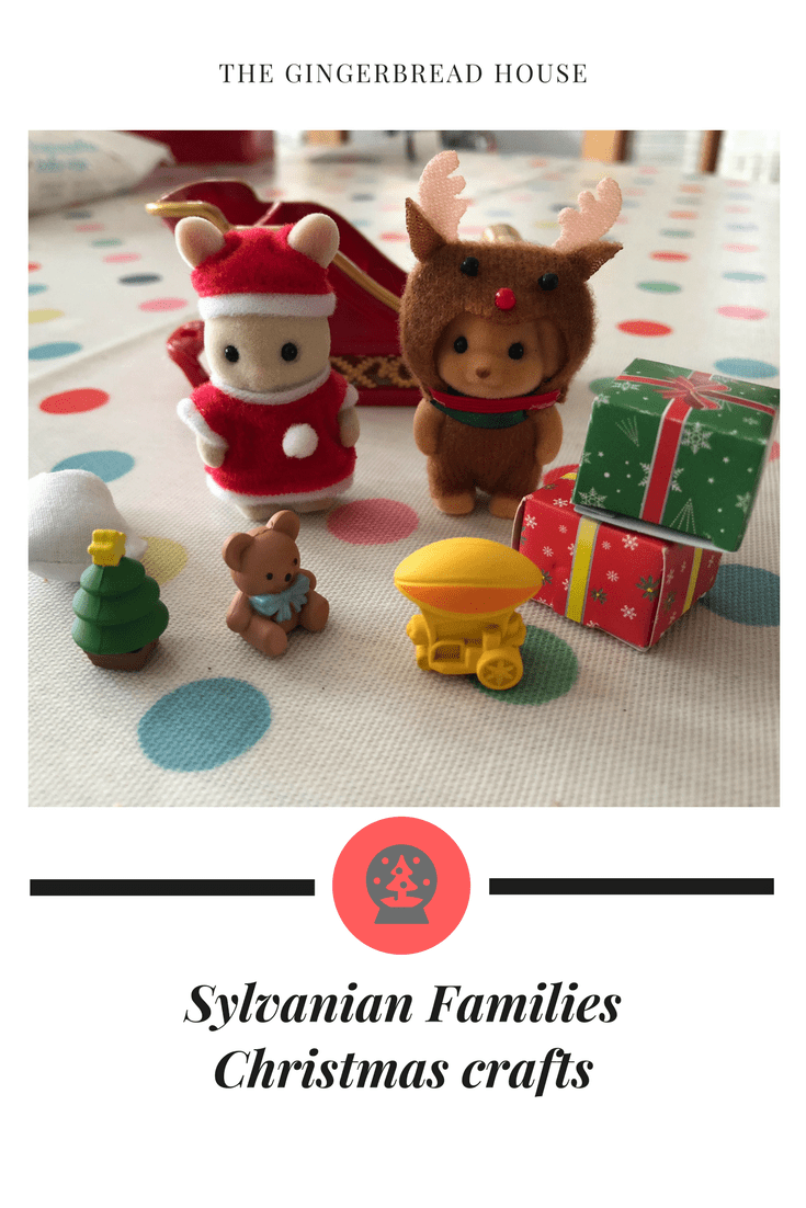 Sylvanian Families Christmas crafts for kids to make
