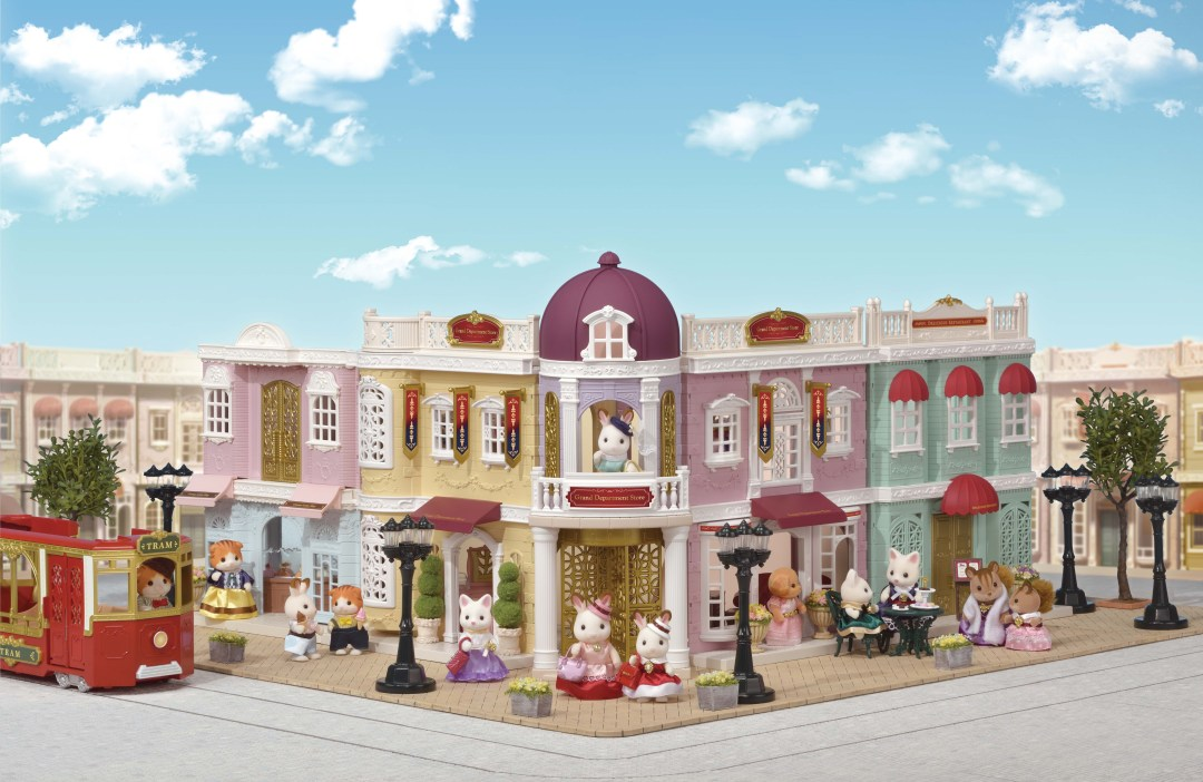Sylvanian Families Town launches in the UK