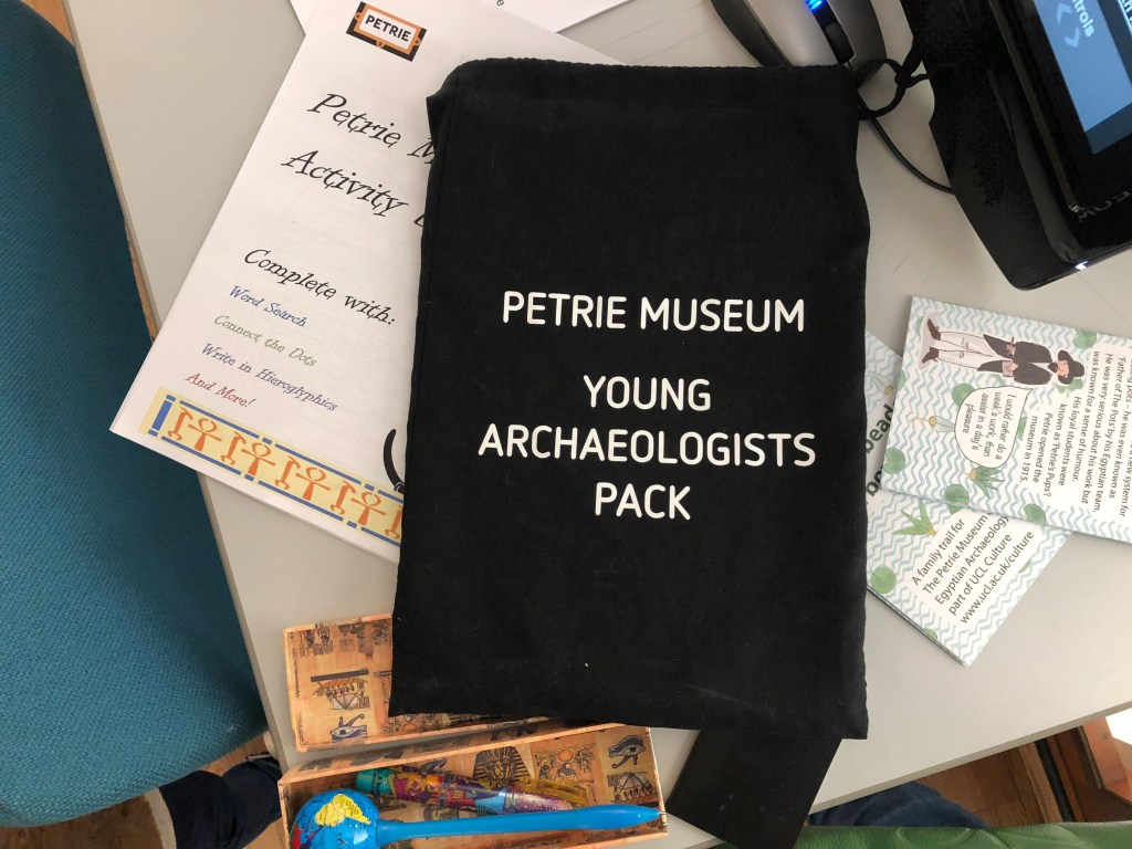 Hunting the Egyptians at the Petrie Museum