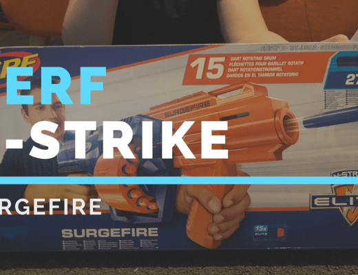 Nerf N-Strike Surgefire from Hasbro review