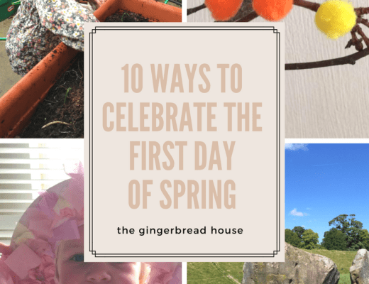 10 first day of Spring crafts