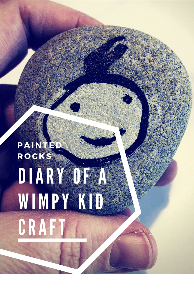 Diary Of A Wimpy Kid Painted Rocks The Gingerbread House