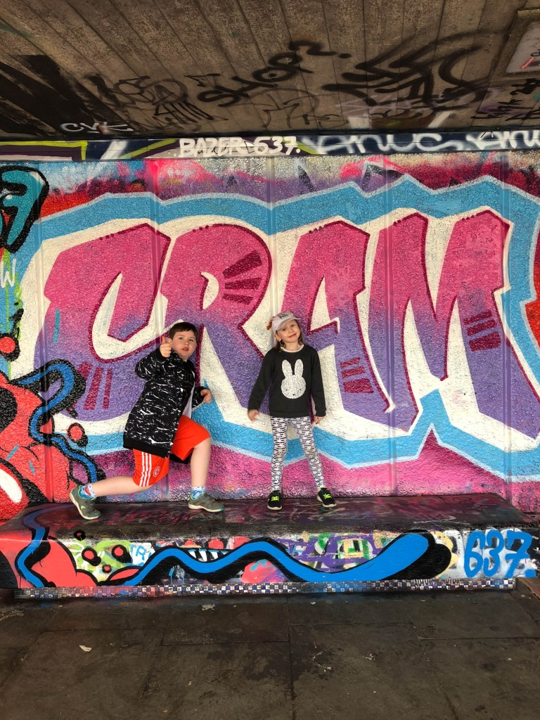 exploring the South Bank with kids