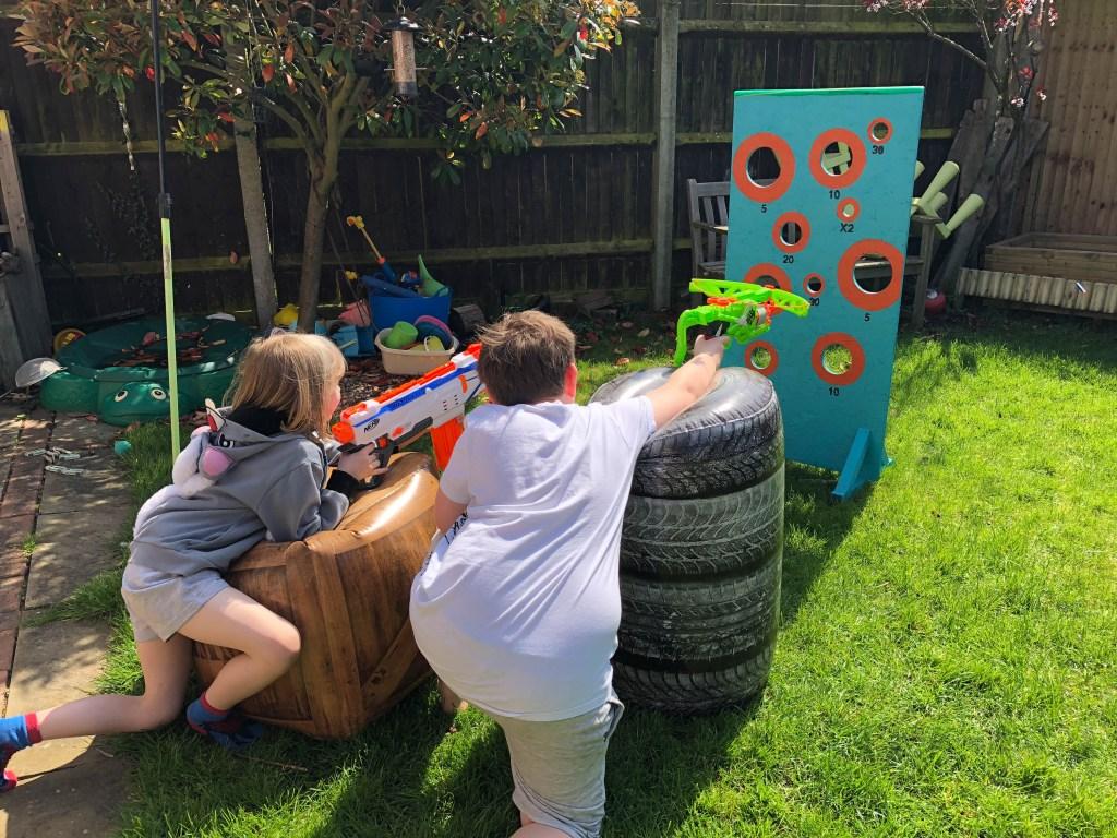 nerf garden target tutorial