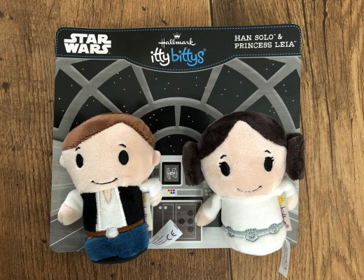 Han Solo and Princess Leia itty bittys