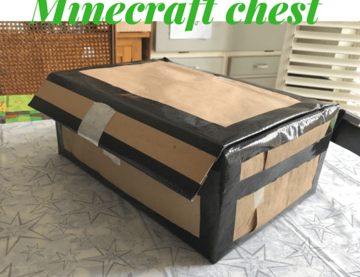 How to make a Duck Tape Minecraft chest