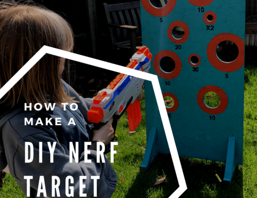 How to make a DIY Nerf target