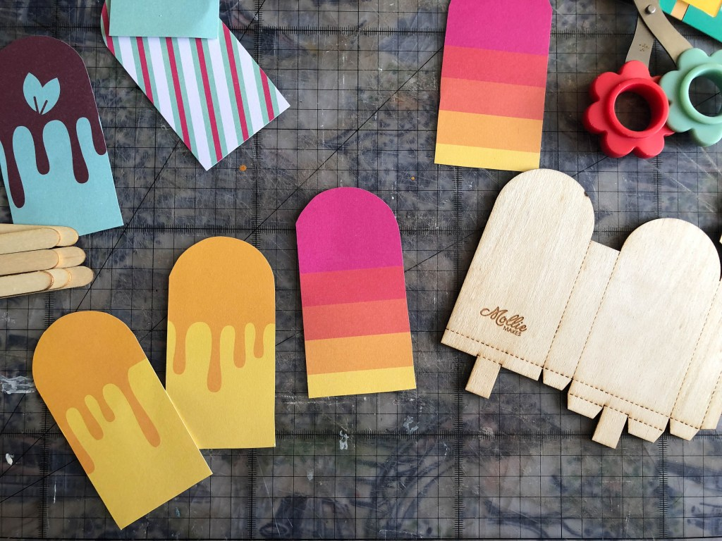 paper ice lollies craft