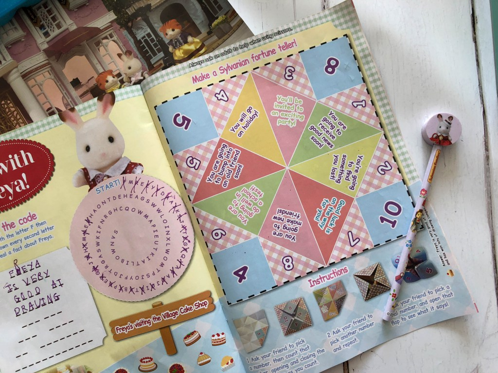 We Love Sylvanian Families Town magazine