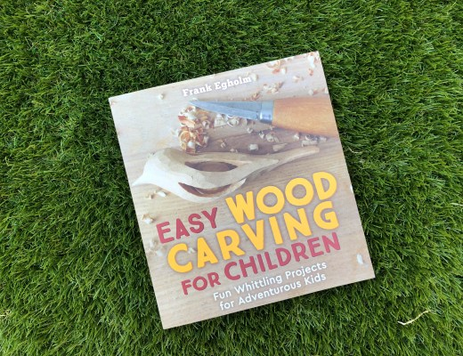 Easy Wood Carving for Children book cover