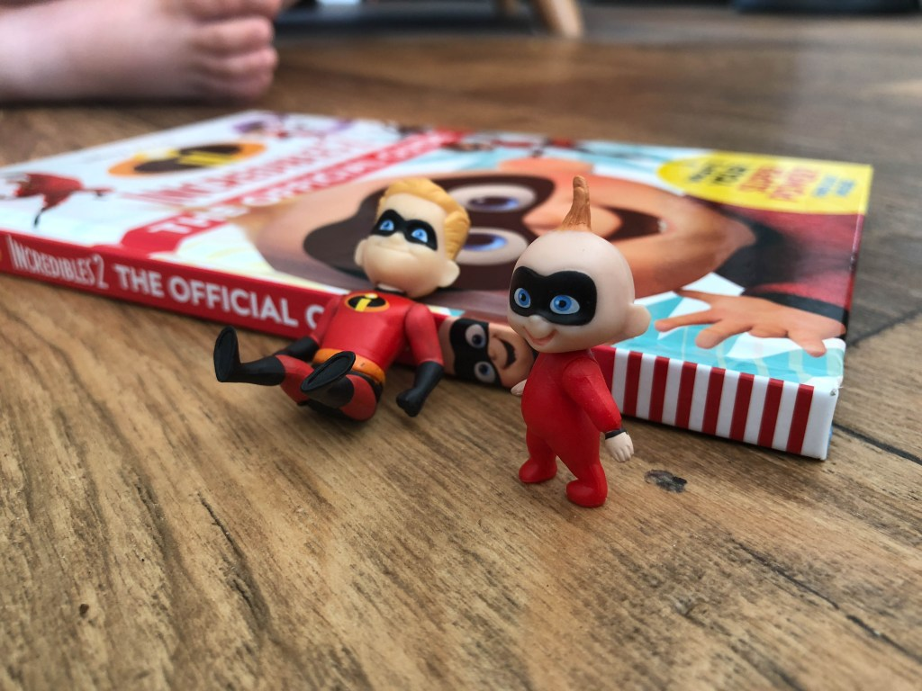 The Incredibles characters action figures