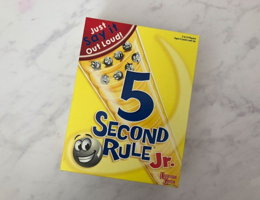 Win a copy of the 5 Second Rule game