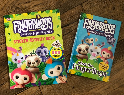 New Fingerlings books for young readers