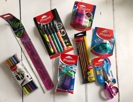 Filling pencil cases with Maped Helix