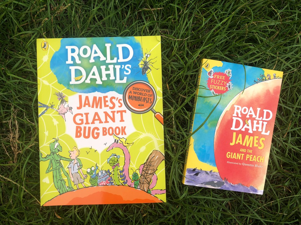 Win James and the Giant Peach and James's Giant Bug Book