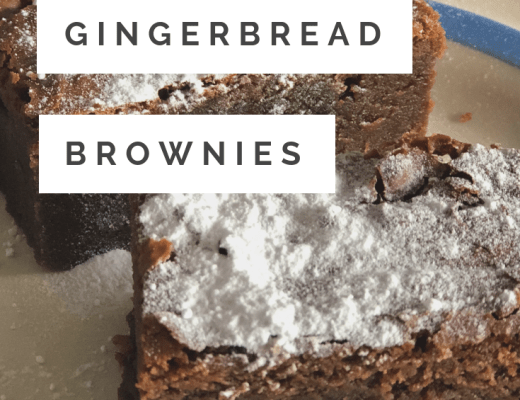 Delicious Chocolate Gingerbread Brownie recipe
