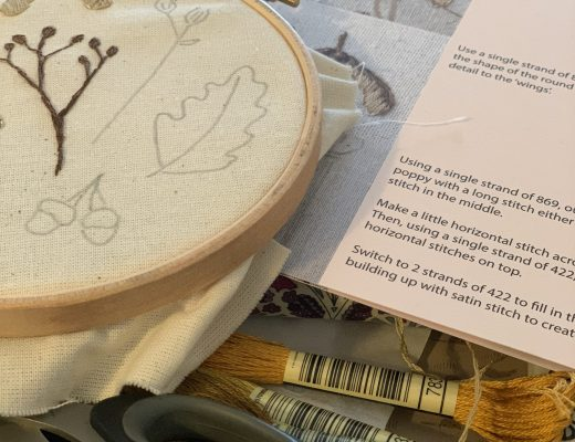 stitching the Autumn Craftpod