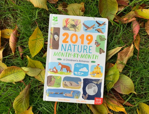 Nature Month-by-Month A Children's Almanac for 2019