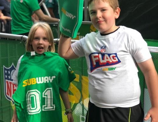 NFL Kickoff and NFL Kids Pak at Subway now