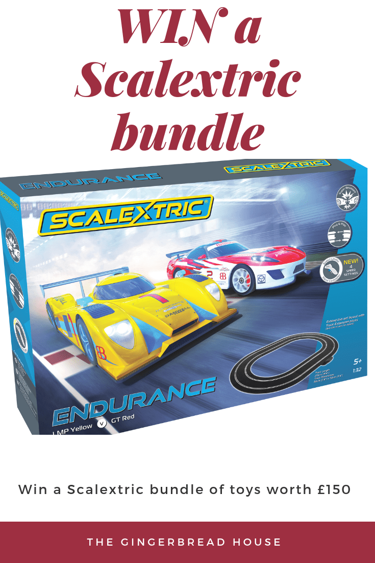Win a Scalextric bundle worth £150