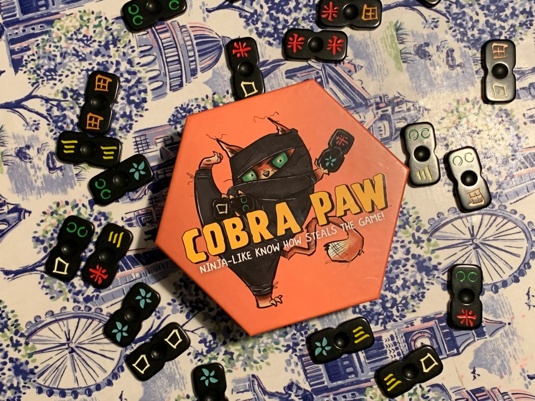 Blogger Board Game Club review: Cobra Paw