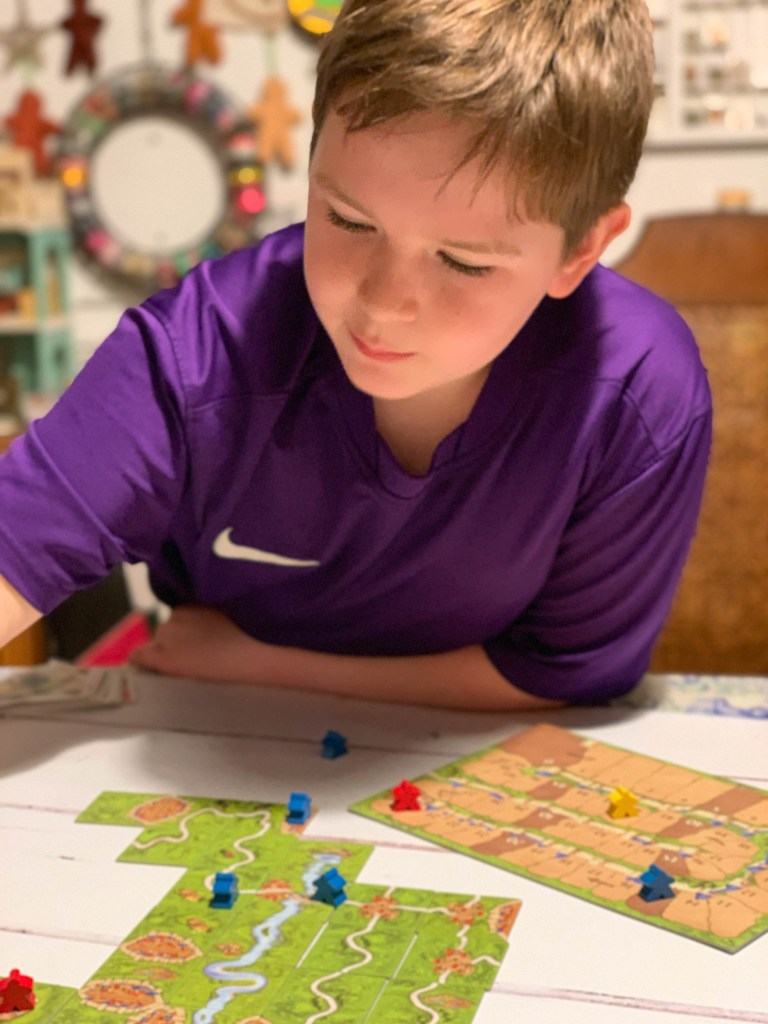 Carcassonne classic family game
